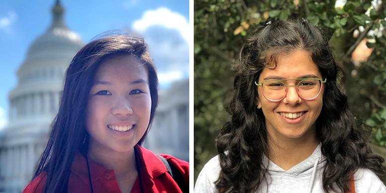 Nicole Liu & Zeynep Enson